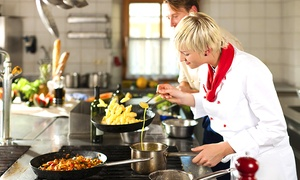 M&M Events: 3.5-Hour Italian Cooking Class with Wine for One ($59) or Two People ($109) with M&M Events (Up to $240 Value)