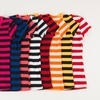 8-Pack of Grip Collection Striped V-neck Tops