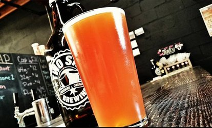 Brewery Package for One, Two, Four, or Six at Two Shy Brewing (Up to 72% Off)