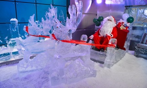 Chillout: Meet Santa on his ice sleigh at his ice-sculpted wonderland at Chillout Ice Lounge