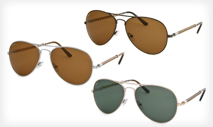 $49.99 for Invicta Unisex Aviator Sunglasses. Multiple Styles Available. Free Shipping and Returns