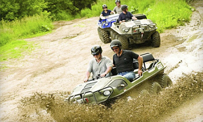 Revolution The Off Road Experience - Revolution Off Road : Mucky Duck Off-Road UTV Experience for Two or Four at Revolution, The Off-Road Experience (Up to 49% Off)