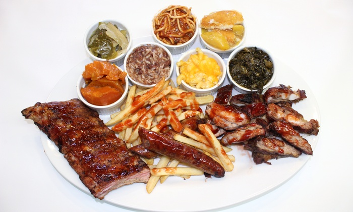 Kenny's Ribs & Chicken and Dustie's Restaurant- Country Club Hills - Country Club Hills: Ribs and Soul Food at Kenny's Ribs & Chicken and Dustie's Restaurant (Up to 51% Off). Three Options Available.
