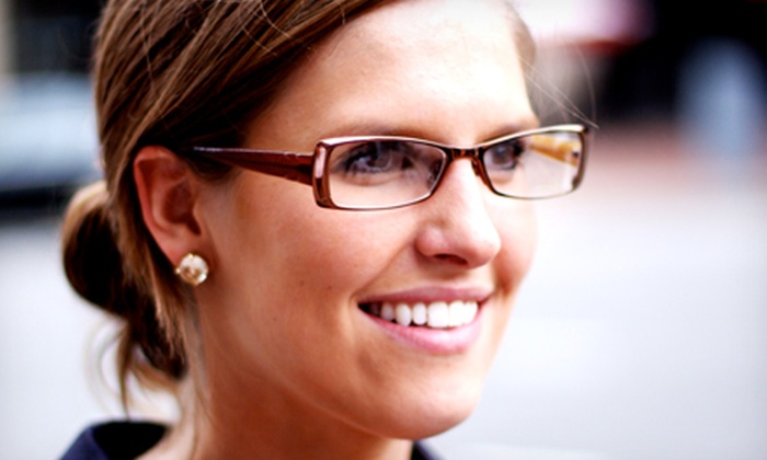 MyEyeDr. - Multiple Locations: Complete Pair of Prescription Glasses and Optional Eyeglass Exam from MyEyeDr. (84% Off)