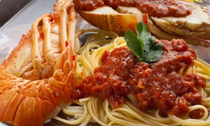 Capone's Hideaway: Up to 56% Off Italian and Seafood  at Capone's Hideaway