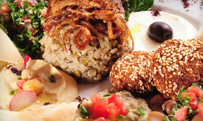 Layalina Restaurant - Bluemont: Lebanese Fare at Layalina Restaurant in Arlington (Half Off). Two Options Available.