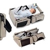 3 in 1 Portable Bassinet, Diaper Bag, and Changing Station