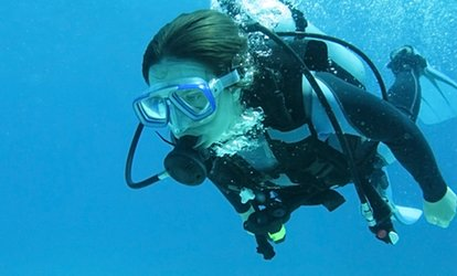 PADI Open Water Diver Referral Course for One or Two with Academy Divers