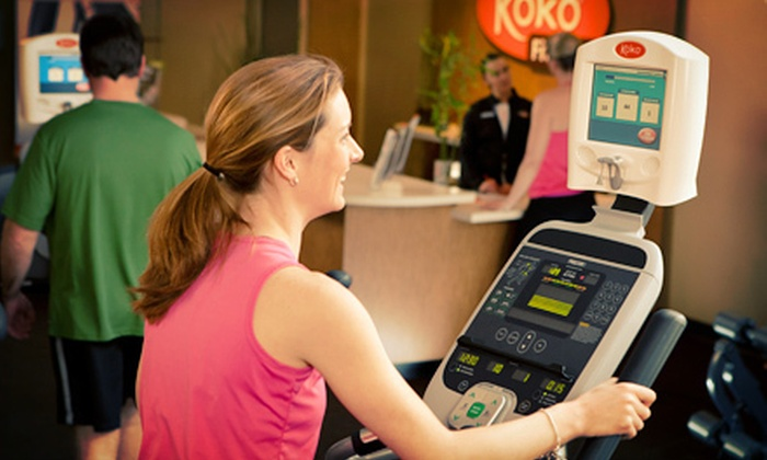 Koko FitClub - Multiple Locations: $39 for a One-Month Unlimited Membership at Koko FitClub ($198 Value)