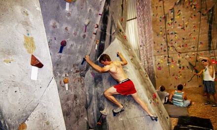 Intro Rock-Climbing Course or Three Days of Climbing for Adult or Junior at Big Rock Climbing Gym (Up to 54% Off)