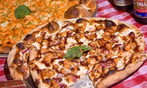 Upper Crust Pizza Midtown: $10 for $20 Worth of Pizza and Wine at Upper Crust Pizza Midtown