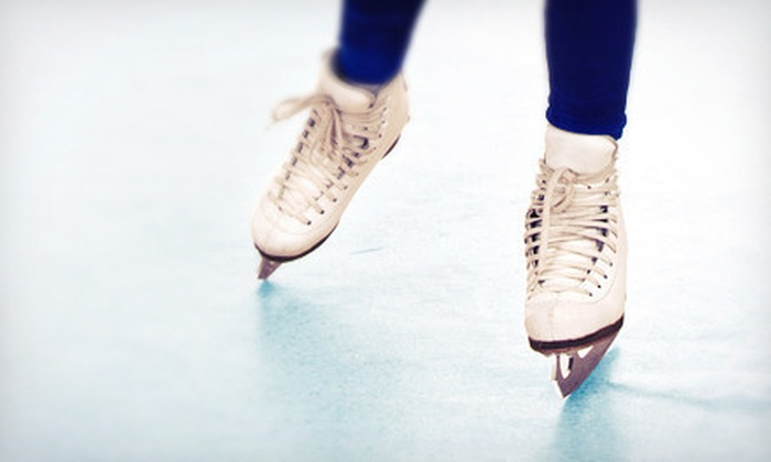 Wings Stadium - Multiple Locations: Ice Skating for Two or Four with Skate Rentals at Wings Stadium (Half Off)