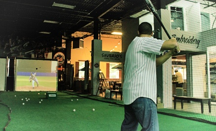 $25 for Batting Cages, Food, and Rock Climbing at Artistic Stitch ($66 Value)