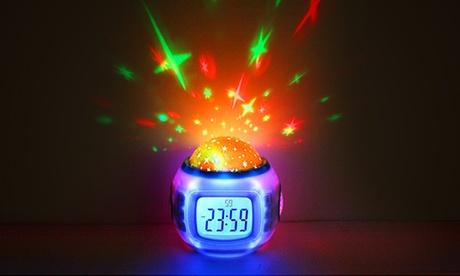 Reloj despertador digital con proyector Oferta en Groupon