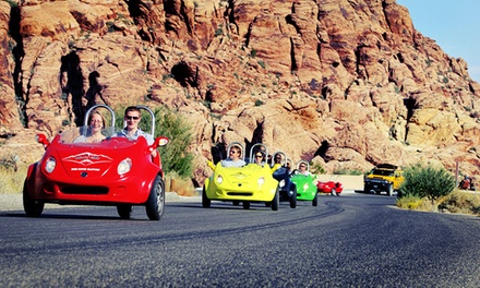 $159 for a Two-Person Double-Scooter Car Tour of Red Rock Canyon from Scoot City Tours ($250 Value)