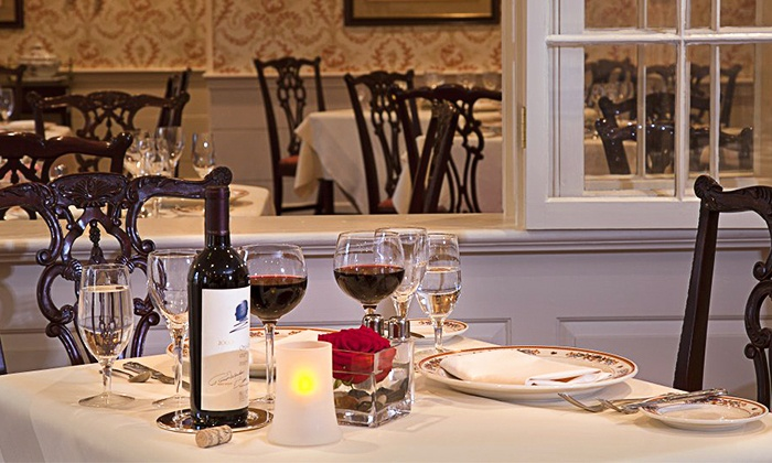 Scrimshaw at The Desmond - Colonie: $100 for a Four-Course Prix Fixe Meal for Two at Scrimshaw at The Desmond ($150 Value)