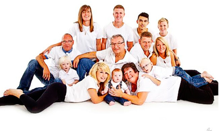 Maz of Leicester - Leicester: Family Photoshoot With Prints Plus Charity Donation for £18 at Maz of Leicester (83% Off)