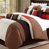 Oversized and Overfilled Comforter Sets (8-Piece)