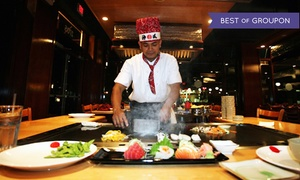 Tokyo Japanese Steak House: Japanese Cuisine for Two or Four at Tokyo Japanese Steak House (Up to 47% Off). Four Options Available.