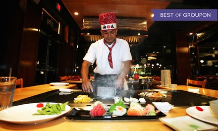 Japanese Cuisine for Two or Four at Tokyo Japanese Steak House (Up to 47% Off). Four Options Available.