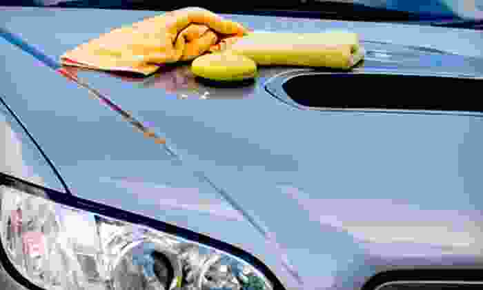 Temple City Car Wash - Temple City: Hand-Car-Wash Package with Optional Wax, Shampoo, or Leather Detail at Temple City Car Wash (Up to Half Off)