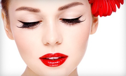 Permanent Eyeliner or Eyebrow Makeup at Derma Couture Permanent Cosmetic Clinic & Training Center (Up to 72% Off)