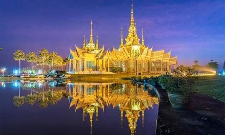 ✈ 10-Day Bangkok, Dubai, & Hong Kong Tour w/ Air. Price per Person Based on Double Occupancy (Buy 1 Groupon/Person).