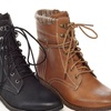 Uncensored Women's Gerry Lace-Up Combat Booties