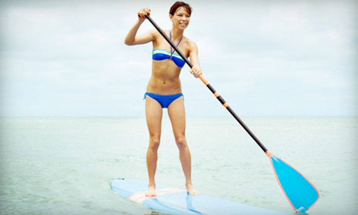 Aloha Paddleboards - Fort Worth: One Hour of Standup Paddleboarding for Two, Four, or Six from Aloha Paddleboards (Up to 64% Off)