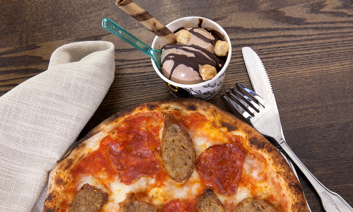 The Gelato Spot - Multiple Locations: $5 for $10 Worth of Gelato and Wood-Fired Pizza at The Gelato Spot