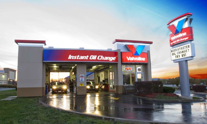Valvoline Instant Oil Change - Multiple Locations: Conventional, Synthetic Blend, or Synthetic Oil Change at Valvoline Instant Oil Change (Up to 41% Off)