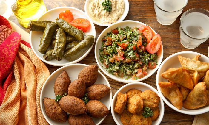 Byblos Restaurant - Midtown South Central: $65 for $100 Worth of Lebanese Cuisine and Drinks at Byblos Restaurant. Groupon Reservation Required.