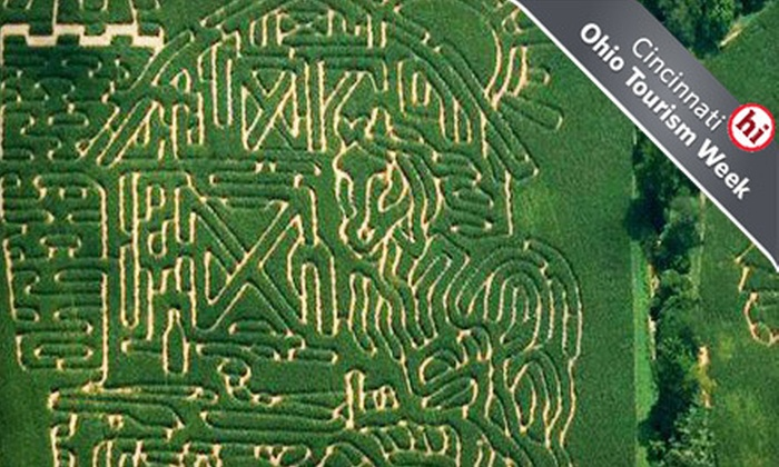 Adventure Acres - Sugarcreek: $14 for a Corn Maze Visit for Two to Adventure Acres in Bellbrook ($29 Value)
