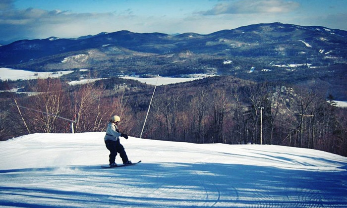 Mt. Abram - Greenwood, ME: $59 for Skiing for Two Adults at Mt. Abram ($98 Value)