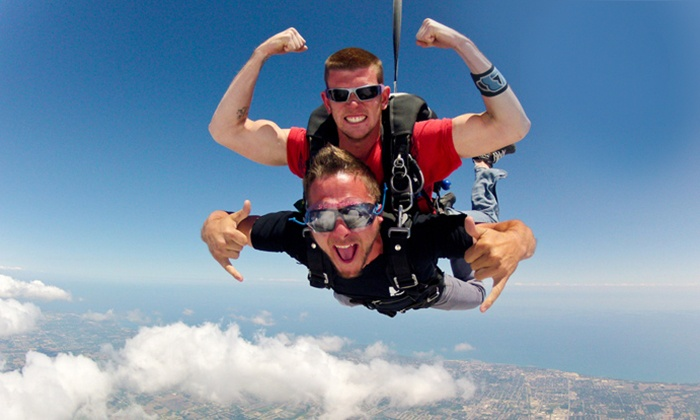 Skydive Midwest - Sturtevant: $149 for a Tandem Jump from Skydive Midwest in Sturtevant (Up to $229 Value)