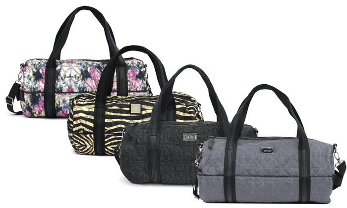 Nicole Miller New York City Life Duffle Bag