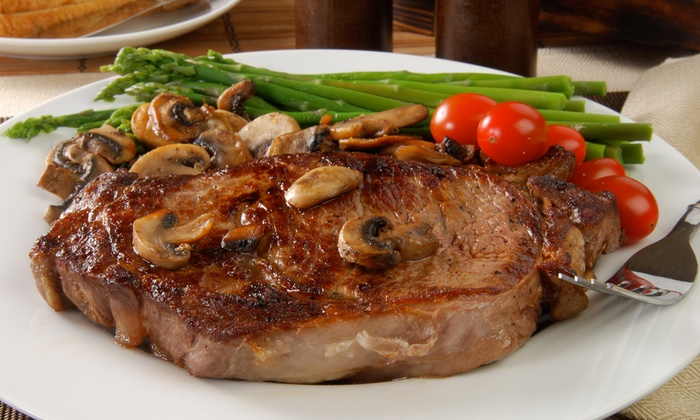 DC Steak House - Downtown Chandler: Steak-House Food and Drinks at DC Steak House (Up to 47% Off). Four Options Available.