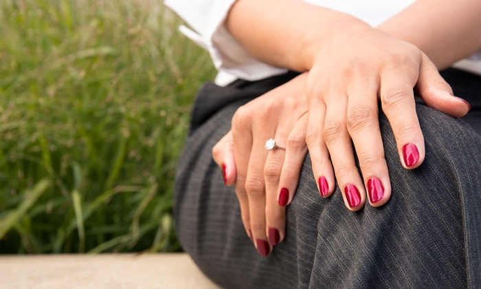 de Bonet Chalet Salon & Mini Spa - Downtown Colorado Springs: Basic, Sports, Naked, or Spa Manicure at de Bonet Chalet Salon & Mini Spa (Up to 47% Off)