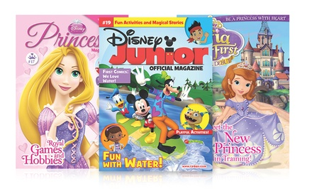 1-Year Subscription to Disney Junior, Disney Princess, or Disney Sofia the First Magazine