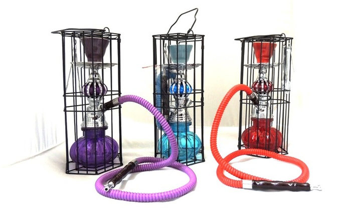 Hookah Town Zen Hookah with Cage: $29.99 for a Hookah Town Zen Hookah with Cage ($39.99 List Price). Multiple Colors Available. Free Shipping.