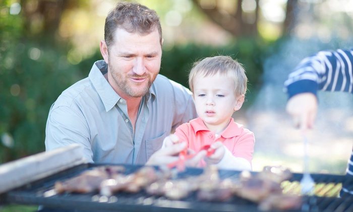 Hickory Roots BBQ by Eddie Deen - Hickory Roots BBQ By Eddie Deen: $70 for a Barbecue Grilling Class for a Parent and Child at Hickory Roots BBQ by Eddie Deen ($150 Value)
