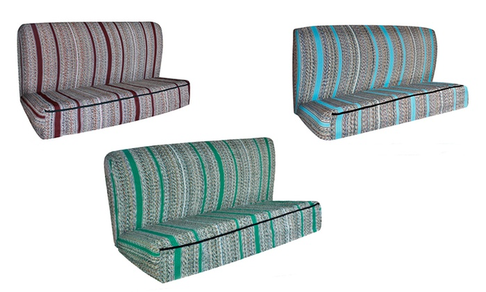 Saddle Blanket Bench Seat Cover Groupon Goods