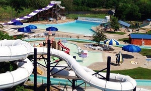 Splash Kingdom Waterparks: Visit for Two or Four with Combo-Meal Vouchers at Splash Kingdom Waterparks (Up to 45% Off)
