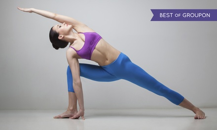 30 or 75 Days of Unlimited Yoga at Hot Yoga Wellness Mississauga (Up to 79% Off)