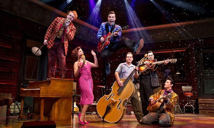 """Million Dollar Quartet"" - Bergen Performing Arts Center: ""Million Dollar Quartet"" at Bergen Performing Arts Center on June 25 (Up to 39% Off)"