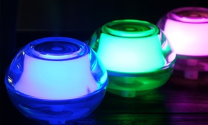 Crystal Air Humidifier And Nightlight