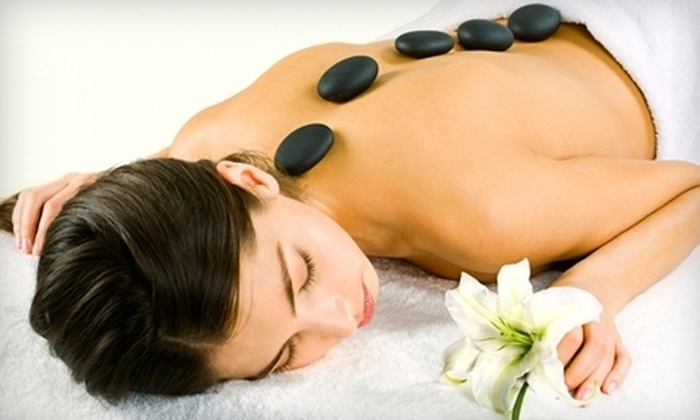 DermaEsthetica - Evergreen: $45 for One-Hour Hot-Stone Massage at DermaEsthetica ($95 Value)