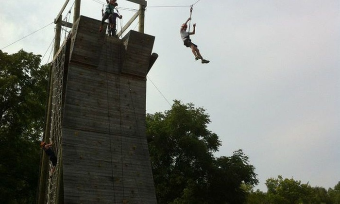 The McCarthy Project - Uncle Fogy Nature Center: Up to 60% Off Rock climbing and ziplining at The McCarthy Project