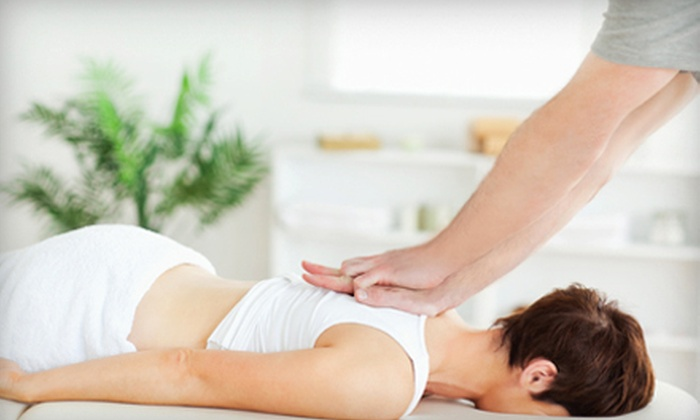 HealthStrong Chiropractic and Rehabilitation - Chino: $29 for One-Hour Massage, Exam, X-rays, and Adjustment at HealthStrong Chiropractic and Rehabilitation ($184 Value)