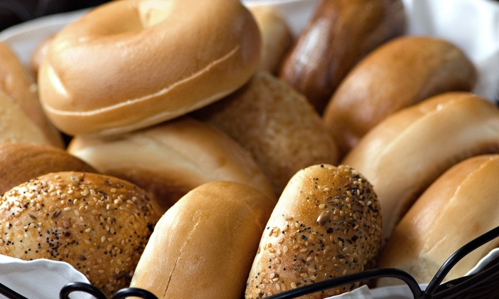 Boopa's Bagel Deli - Fairway Bend: Bagels and Sausage Rolls, or Deli Food at Boopa's Bagel Deli (Up to 56% Off). Three Options Available.